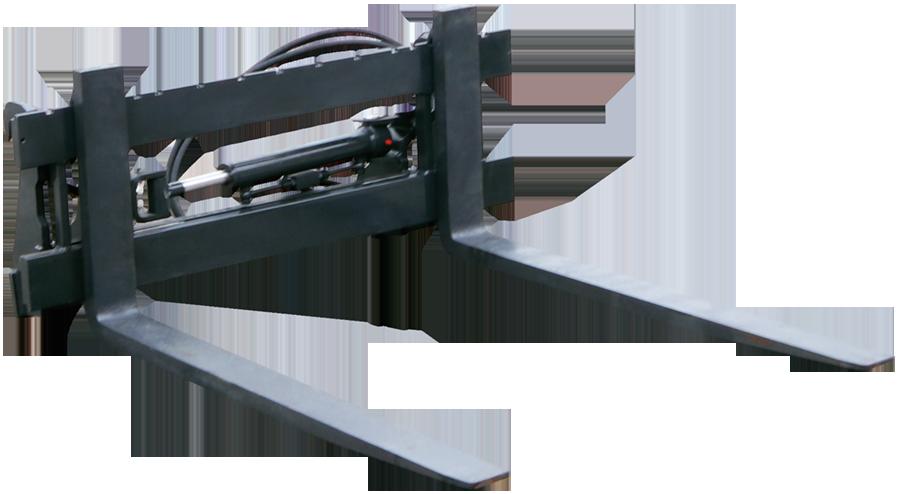 STOLL Werkzeug Palettengabel HD mit Seitenschieber