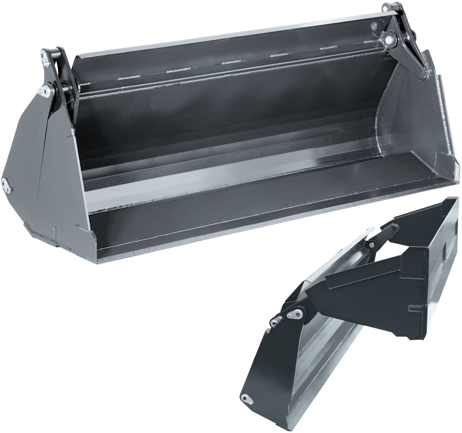 STOLL bucket range - The original STOLL bucket range for front